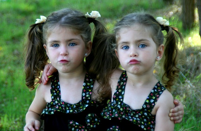 picture of twin sisters