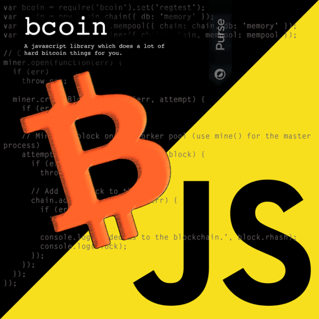 bcoin - full-node implementation in JavaScript