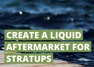 Case 69: Blockchain Can Create a Liquid Aftermarket for Start-up Investments